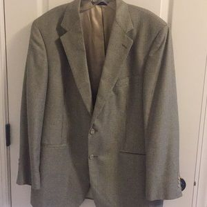 Brooks Brothers jacket sport coat silk and wool